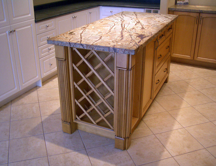 Continental kitchen design inc for Other uses for wine racks in kitchen